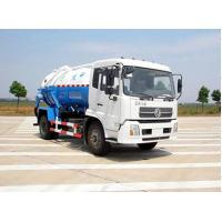Buy cheap Large Capacity Vacuum Sewage Suction Truck , 10cbm Fecal Suction Truck from wholesalers