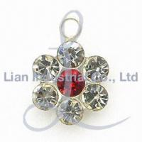 China Charms, Suitable to Use on Bags, Shoes and Zippers on sale