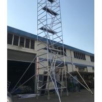 China High quality Mobile Aluminium Scaffolding Ladder Tower in 0.75*2m 1.35*2m for sale
