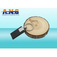 Quality Printed Passive Black ABS Rfid Key Fob for Access Control Systems and Security for sale