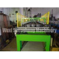 Quality Hydraulic Powered Uncoiler Metal Roofing Forming Machine , Roof Sheet Making Machine for sale