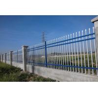 China Powder Coated Villa Fence W PALES , Guard Rail Front Yard Fence With Gate on sale