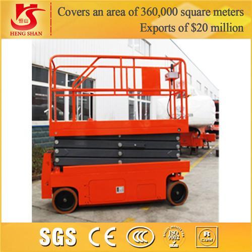 Mini Hydraulic Scissor Lift : Mobile mini hydraulic scissor lift kg