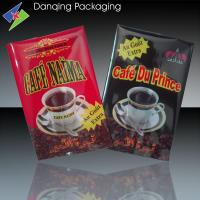 Quality Vivid Gravure Printing Fin Seal Bag , Snack Packaging Bags For Coffee for sale