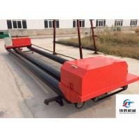 Quality Electric Switch Road Roller Machine , Triple Roller Tube Paver For Airport Roads for sale