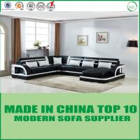Quality Contemporary Italian Home Furniture Corner Modern Leather Sofa for sale