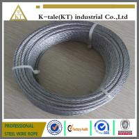 Quality promotional price suitable for Marine Hardware 304 stainless steel wire rope for sale