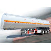 Quality 3 Axles 45000 liters 5 compartments diesel fuel tank trailer for oil transportation for sale
