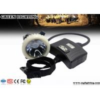 Quality 3.7V IP67 CREE Mining Cap Lights With Rear Warning Light Atex Certification for sale