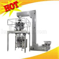 Quality Vegetable Cracker Pop Snack Auto Weighing Packing Machine for sale
