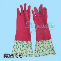 China Malaysia high quality rubber household glove on sale