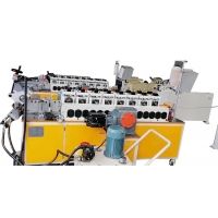 Quality 55mm 800mm Diameter V Clamp Automatic Cold Roll Forming Machine for sale