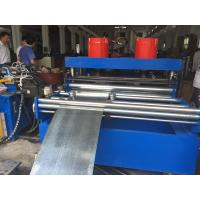 Quality GCr15 Roller Cable Tray Machine 380V 50Hz 3 Phase with Hydraulic Cutting Cr12mov for sale
