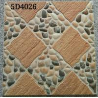 Quality Antique Style 400x400 Floor Tiles Ceramic Exterior Courtyard  Differnt Patterned for sale