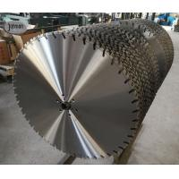 Buy cheap 800mm Laser wall saw blade for fast cutting high strength reinforced concrete from wholesalers
