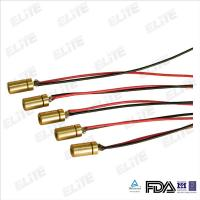 Quality FDA Certified 5mw Mini Green Laser Diode Module 4x8mm for Laser Grips for sale
