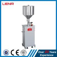 Quality Single Head Semi-automatic Paste Cream Filling Machine bottle/jar filling machine for cream/ointment/lotion for sale