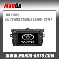 Quality double din car radio for TOYOTA COROLLA (2007 2008 2009 2010 2011) in-dash audio dvd player for sale