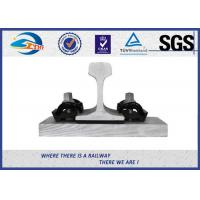 Buy 44 - 48HRC Hardness E Clip Vossloh Fastening Systems Bitumen Dacromet at wholesale prices