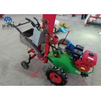 Quality Red + White Paddy Reaper Machine , Small Wheat Cutting Machine With Tractor for sale