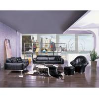China Living Room Furniture Luxury Leather Sofas ,  European Modern Style on sale