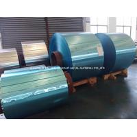 Buy Golden / Blue / White Hydrophilic Aluminium Foil Thickness 0.089--0.25mm at wholesale prices