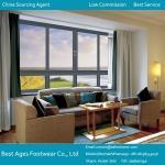 Quality Aluminium casement window/aluminum glass panel window/aluminum window and door for sale