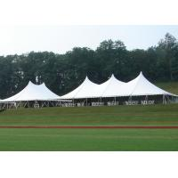 Quality 18 * 24M High Peak Pole Tent , Waterproof PVC Roof Custom Party Tents for sale