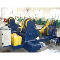 Quality Movable Self-aligned Welding Rotator PU Coated VFD Control For Vessel for sale