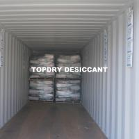 China TOPDRY Air Dryer Calcium Chloride Desiccant With MSDS For Water Absorbing on sale
