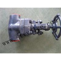 Buy cheap Forged Gate valve (Forged steel gate valve,NPT threaded gate valve) from Wholesalers