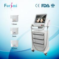 Quality 3 handles 10 thousands shots non invasive wrincle removal Hifu Face Lift Machines for sale for sale