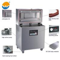 Quality Double room stainless steel food vacuum package sealing machine/automatic vacuum package machine for sale