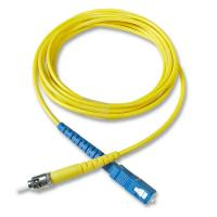 Quality fiber optical cable pvc 2.0 LC-LC MM DX 9m for sale