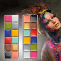 Buy cheap Water Based Beauty Makeup Accessories Non Toxic Body Art Party Makeup Face Paint from wholesalers