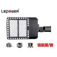 Quality ETL DLC listed LED Car Parking Lamp 100W 120W 150W Dimmable with Lora system 155lm/w 5 years warranty for area lighting for sale