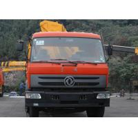 Durable XCMG Folding Boom Truck Mounted Crane 10T For City Construction