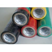 Green / Red / Black Single Side Adhesive Insulation Tape for Cables and Wires