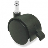 China Nylon Double Wheel Furniture Casters With Brakes on sale