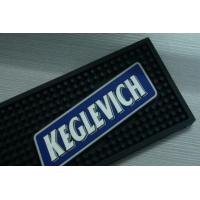 Quality Black Bar Cup Coffe Mat , Personalised Bar Runners 59×10×1cm for sale