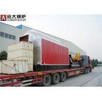 China 6 T / Hr Wood Fired Steam Boiler Coal Burning Continous Heating Output on sale