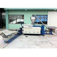 Quality LD-SZ-65 PVC Conical Twin Screw Extrusion and Pelletizing Line 37kw High output for sale