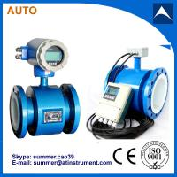 China Hydrochloric acid and phosphoric acid electronic flow meter with low cost on sale