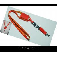 Quality Safety Eco-friendly custom heat transfer promotional polyester neck lanyard for sale