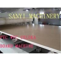 China Wood Plastic Construction Board Production Line on sale