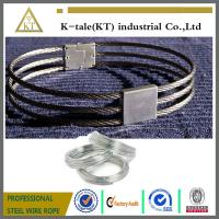 Quality 3-strand collar /stainless steel wire rope slave collar for sale