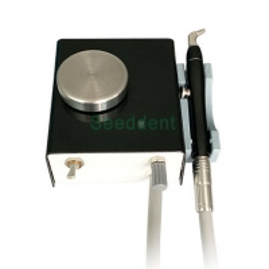 Quality New Black Color Dental Air Polisher Machine / Cleaning Sandblasting Machine SE-J025 for sale