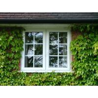 China Casement window,grill design,double glazing,window frames in white color on sale