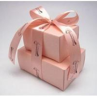 Quality cardboard gift packaging box with handle for sale