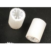Quality MBBR HIPS Material Plastic Filter Media With Size 5mm X 10mm And White Color for sale